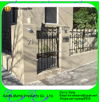 Beautiful Ornamental Wrought Iron Modern Gates and Fences Design