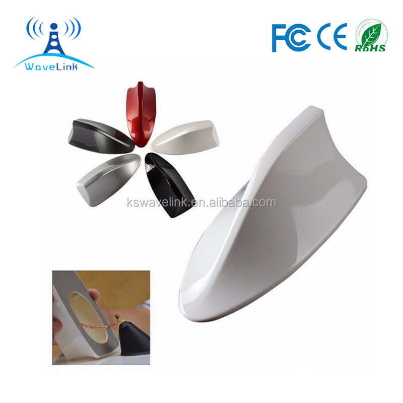 Many Colors Car Roof Mount Shark Fin Antenna FM AM Shark Fin Antenna