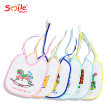 Manufacture hot 100% Organic Cotton customized adult baby bandana bibs