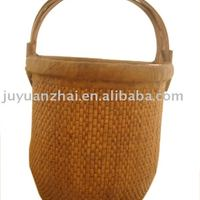 Chinese Antique Furniture Craft Wicker Basket