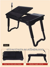 laptop table with fan case for tablet table for sofa