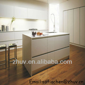 Assemble High Gloss Kitchen Cabinets from ZHUV