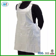 Custom printed PE thick plastic disposable aprons