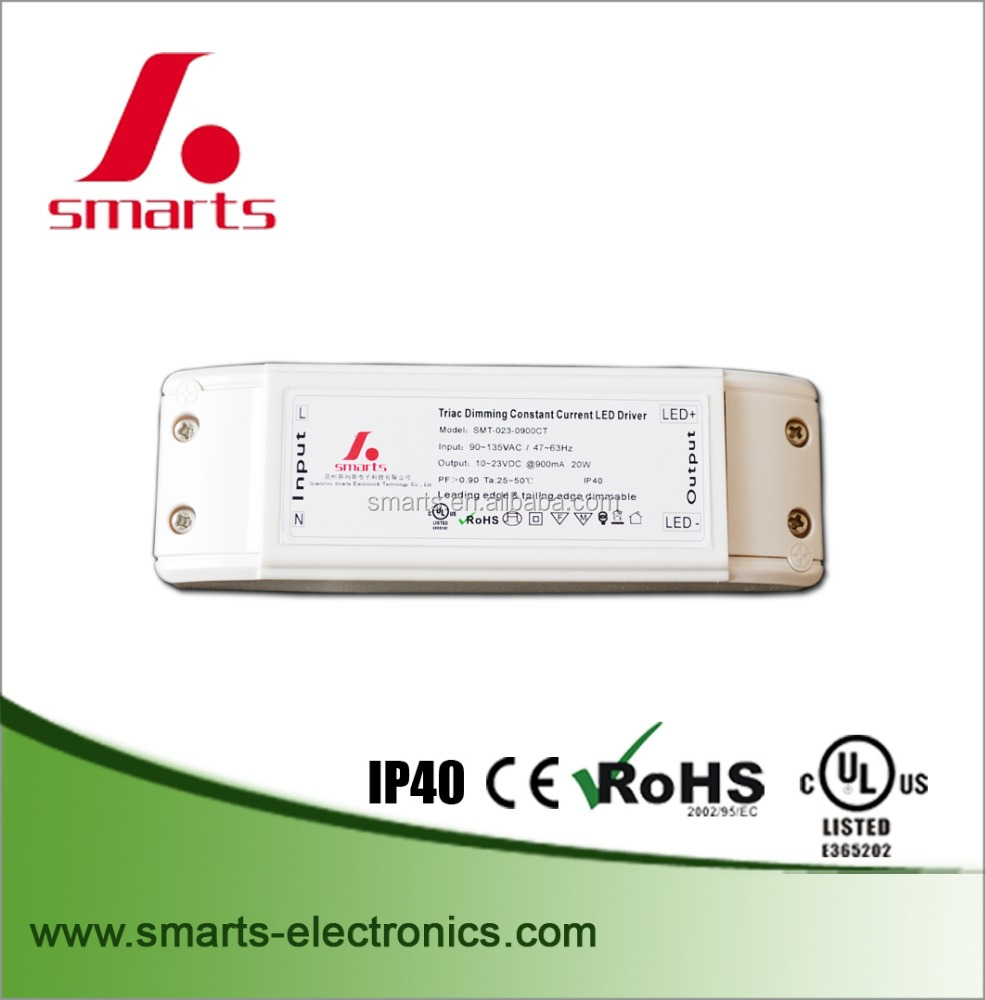 500ma 20w cc triac led driver
