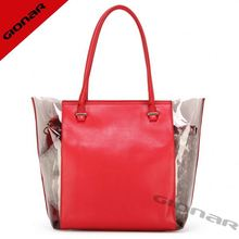 New arrival silicone rubber bag for women transparent cosmetic bag