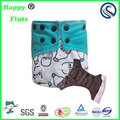 Happy flute baby washable AIO diaper babmoo terry reusable diapers manufacture