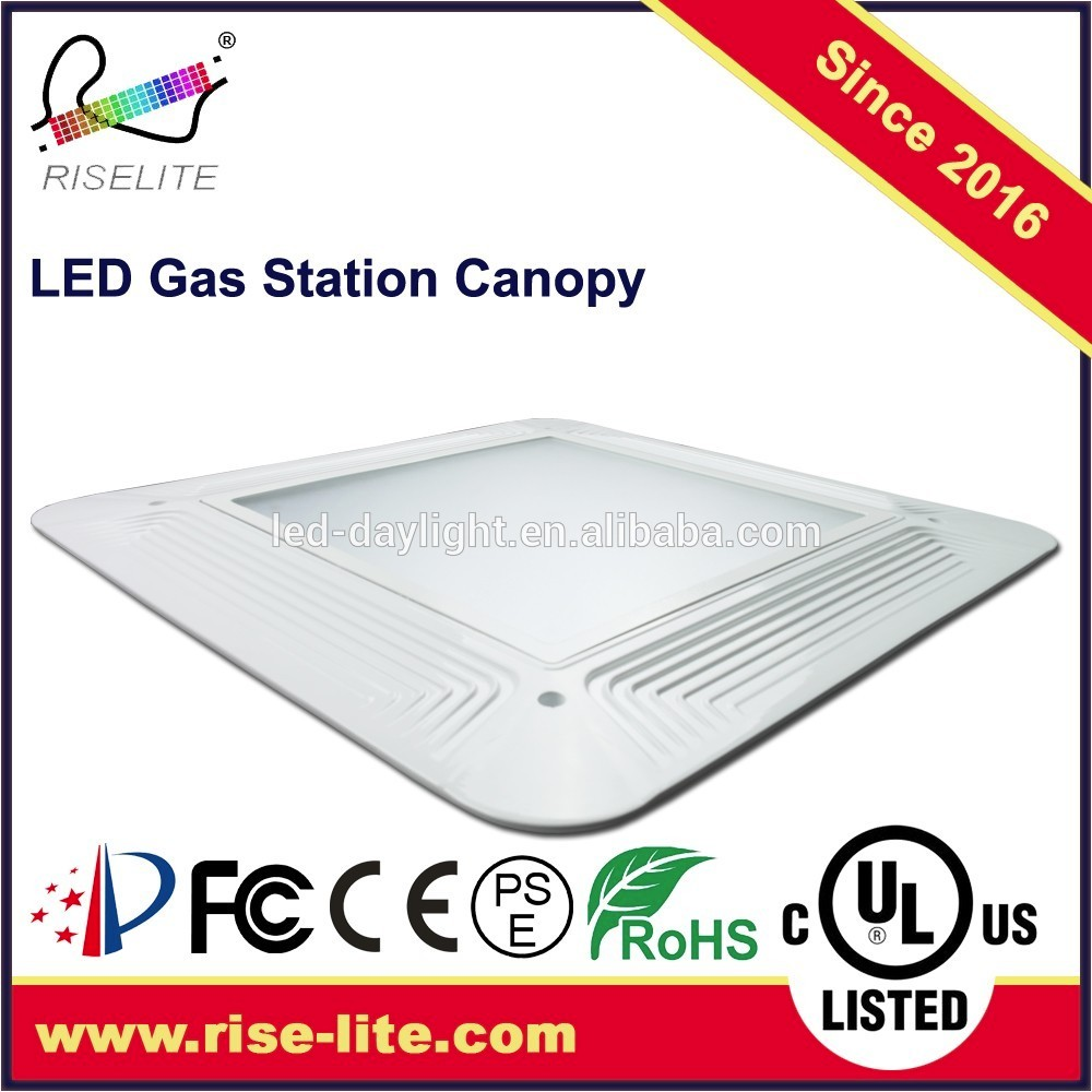 DLC listed outdoor waterproof china factory explosion proof gas station led canopy lights