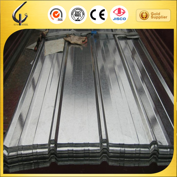 Wall Decoration Use Zinc Aluminized ibr Iron Corrugated Roofing Steel Sheet Supplier