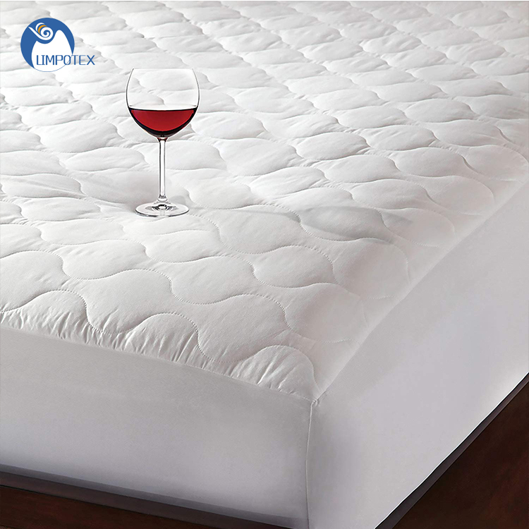 Wholesale 100% polyester fabric waterproof breathable mattress topper for hotel - Jozy Mattress | Jozy.net