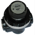 DN50 fuel oil oval gear flow meter for gasoline
