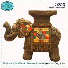 Hand Crafted Resin Elephant Rajasthani Massage Room Art Decor