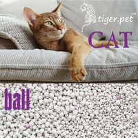 High class quality clumping ball shape bentonite kitty litter bulk