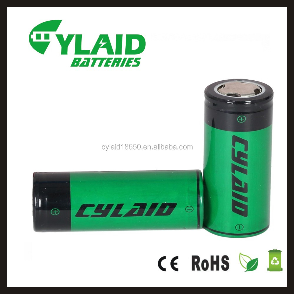 Cylaid standard 18650battery 3.7V 3000mah li ion rechargeble battery electric cigarette mod box battery