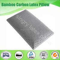 health 60cm activated bamboo charcoal pillow
