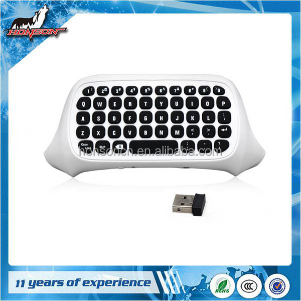 Newest Model Whte Wireless Bluetooth MIni Game Pad Keyboard For XBox ONE S SLIM controller