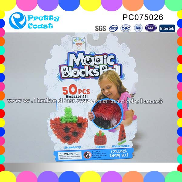 Wholesale variety connects magic toys thorn ball clusters