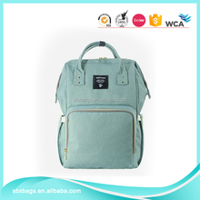 Large Capacity Polyester Mummy Maternity Nappy Backpack Bag