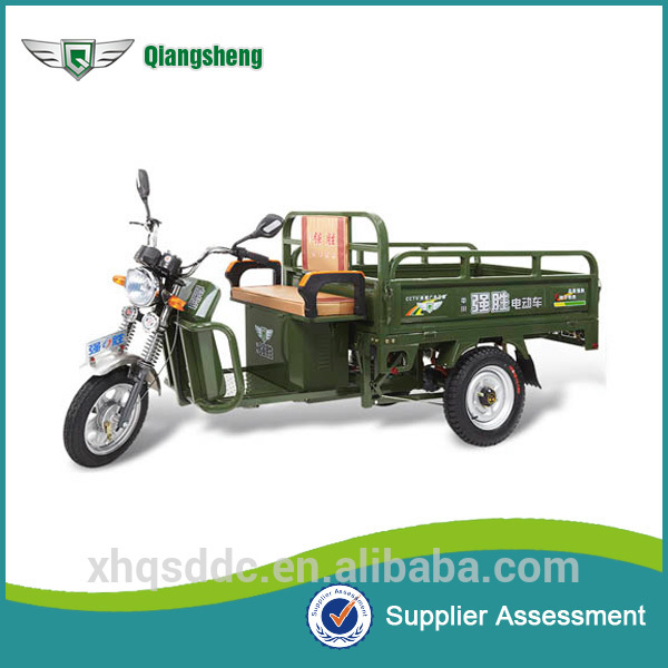 China Battery Three Wheel Cargo covered Motorcycles Manufacture