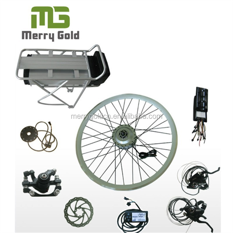 36V 500W electric bicycle conversion kits with brushless hub motor