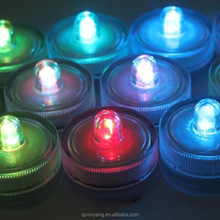 Decorative Water Activated Led Light, Submersible Led Tea Lights