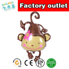 Birthday Decoration aluminum film inflatable monkey balloon baby old party decoration Party aluminum foil balloon supplies whole