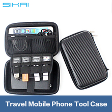 SIKAI Wholesale Phone Case Cover For Mobile Phone Accessories Travel Tool Case Waterproof EVA Bag