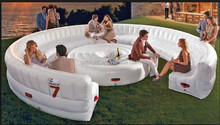 6m diameter Inflatable sofa for advertising