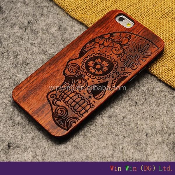 Top Sale Cell Phone Case Cover For iPhone 6, Wholesale Case wooden case for iphone