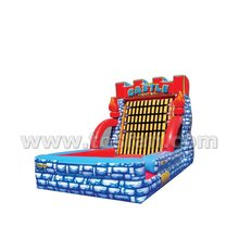 High quality inflatable sport games sticky jumping wall A6030