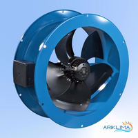 Top quality clean air local ventilation fan for excavation to refresh air RING-VF