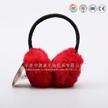 Plush earflap for winter, comfortable warm earmuff for ear protector cartoon design