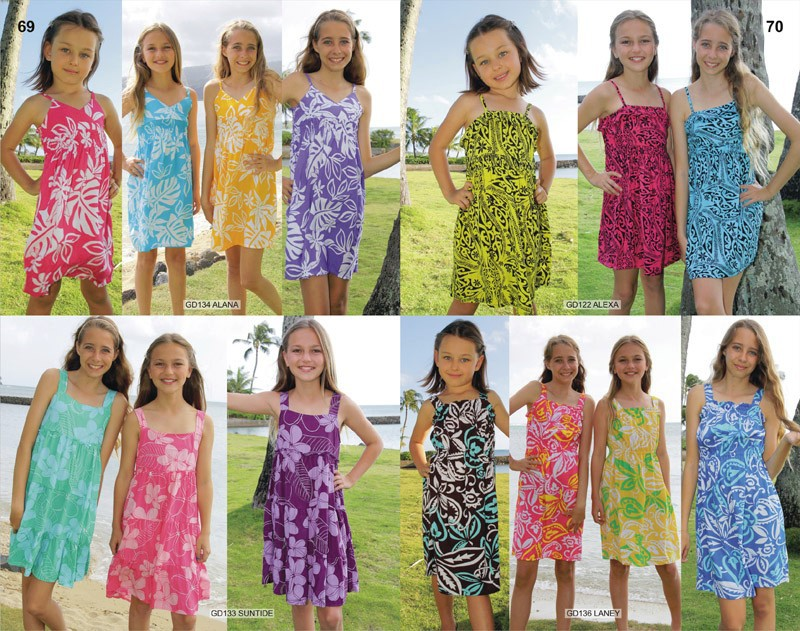 PRIVATE LABEL & CUSTOM GIRLS BEACH DRESSES