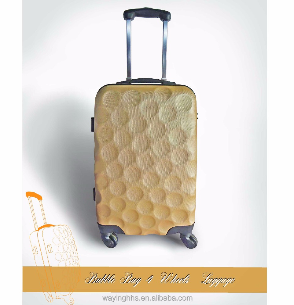 Bubble Bag 4 Wheels Locked Luggage Suitcase