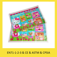 Vivid printing China placemat supplier kids table topper custom table mat