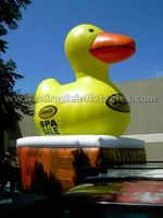 High quality advertising balloon,giant inflatable promotion duck C3010