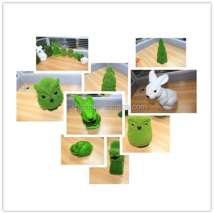 Gr ne dekoration draht tiere moos formschnitt for Gartendekoration tiere