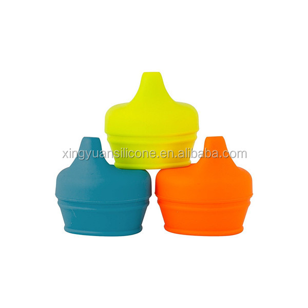 Eco-friendly silicone food grade baby sippy cup lid
