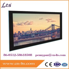 fixed frame projector screen picture frame projection screen
