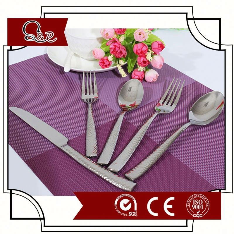 Biodegradable corn starch 18/0 metal fork / cutlery with wholesale price