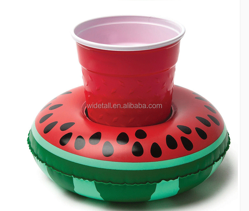 inflatable floating drink holder / foam drink drink holder