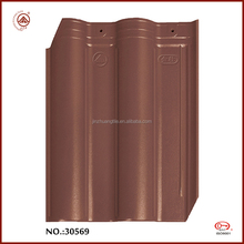Big Sale Cold Resistance Coffee Brown Interlocking Roof Tiles