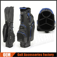Custom Light Weight Nylon Golf Caddy Bags,Waterproof Cart Bags