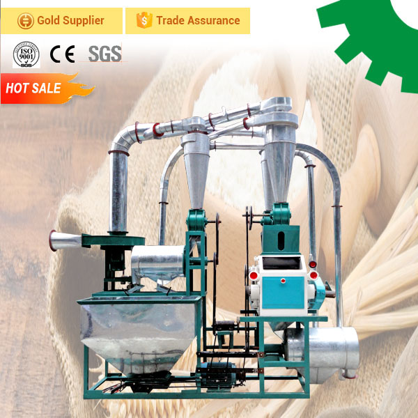 Single grinding wheat flour making mill machine