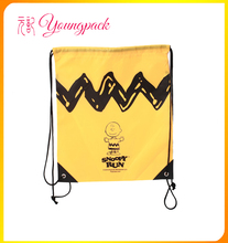 Custom Cheap Price Promotional Drawstring Shopping Bag
