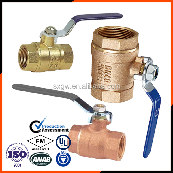 bronze T handle brass ball valve with free sample in stock factory in China high quality