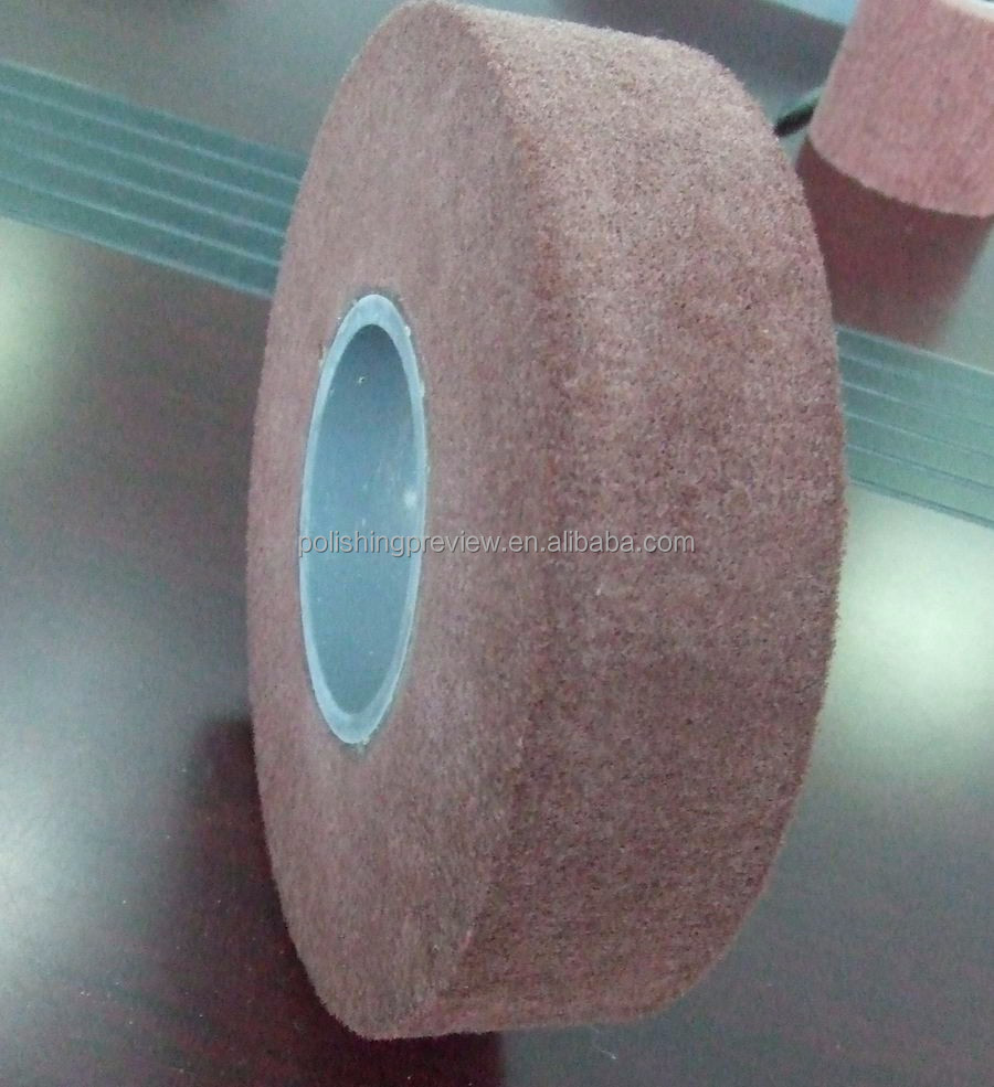 Non woven flap wheel, flap brush