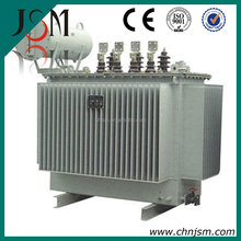 Wenzhou Three phase Power usage oil cooled two coil seal transformer 2500KVA 11KV high quality