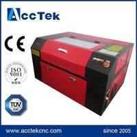 High efficiency AccTek 2d 3d crystal laser engraving machine for sale