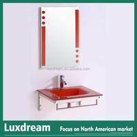 Small size Europe design Glass wash basin for Hotel project