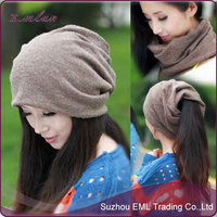 Fashion lady blank kintted turban hat/The magic hat wholesale
